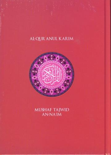 Cover Buku AL QURAN Kecil An-Naim (Hard Cover) A6