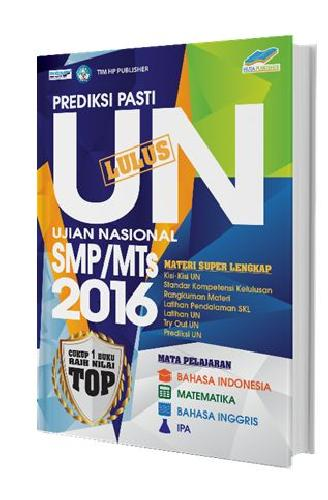 Cover Buku Prediksi Pasti Lulus SMP/MTs 2016