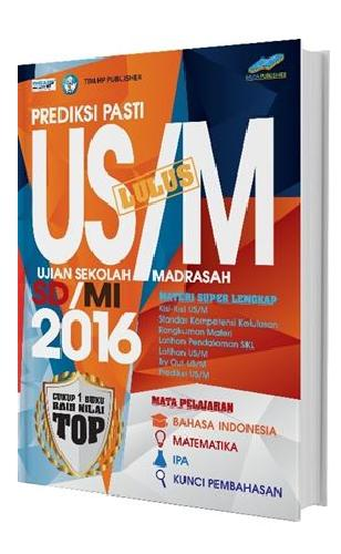 Cover Buku Prediksi Pasti Lulus US/M SD/MI 2016
