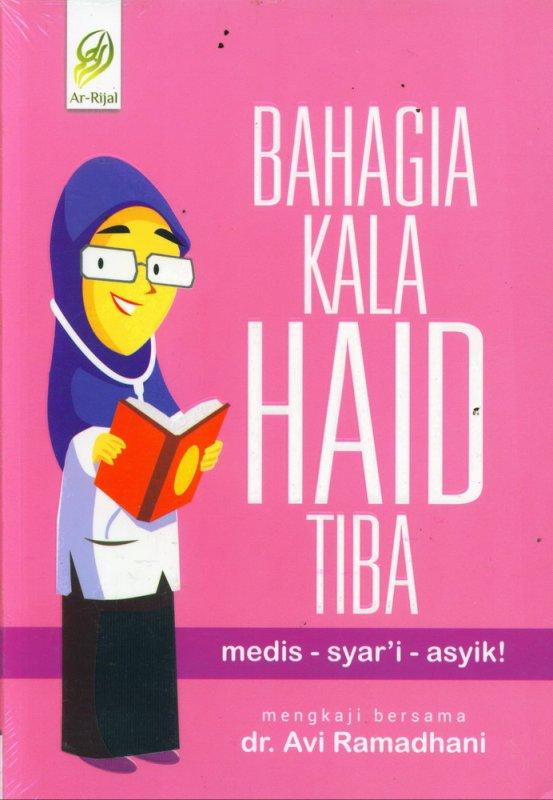 Cover Buku Bahagia Kala Haid Tiba