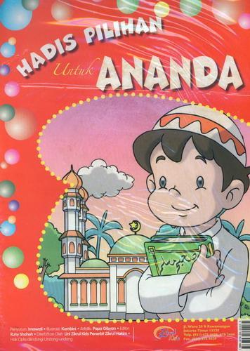 Cover Buku hadis Pilihan Untuk Ananda