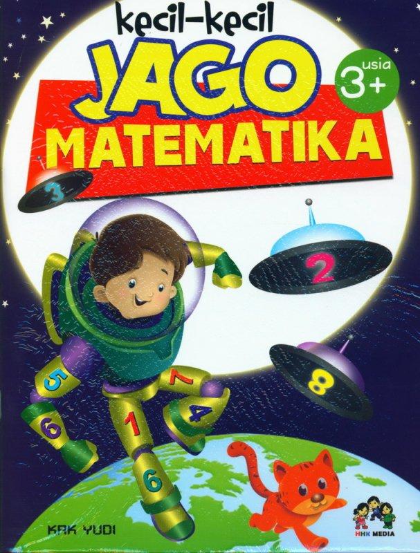 Cover Buku Kecil-Kecil Jago Matematika (usia 3+)