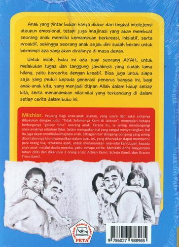 Cover Belakang Buku Tugas Seorang Ayah : Kumpulan Kisah Dongeng dari Ayah untuk ( Retur)