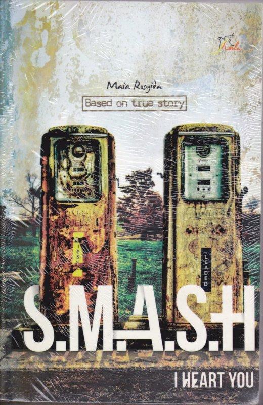 Cover Belakang Buku S.M.A.S.H I Heart You (Disc 50%)