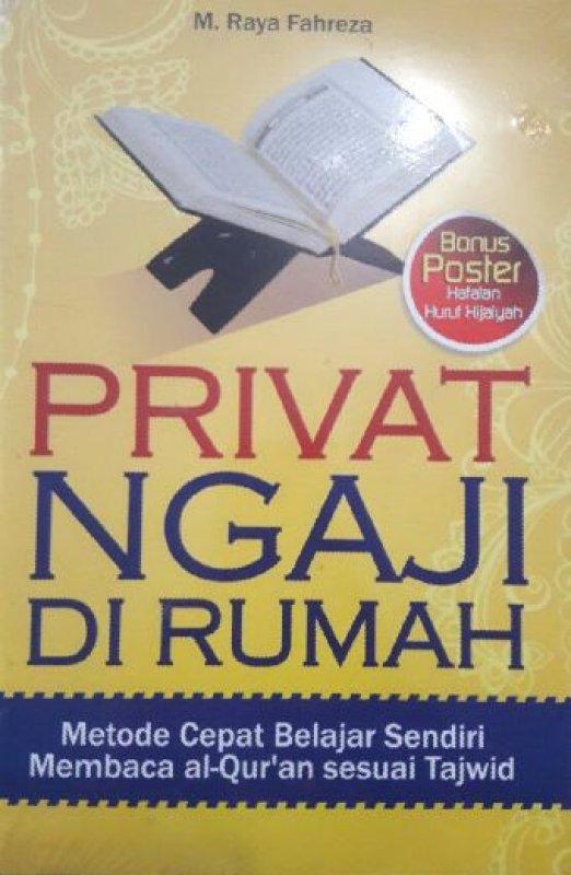 Cover Buku PRIVAT NGAJI DI RUMAH BONUS POSTER