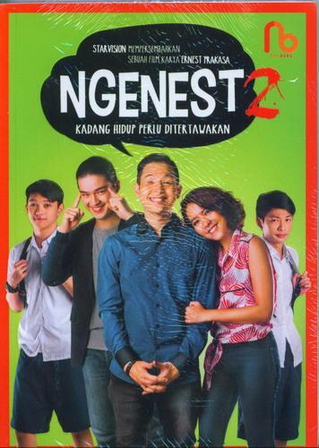 Cover Buku NGENEST 2 - Ngetawain Hidup Ala Ernest (Cover Film)