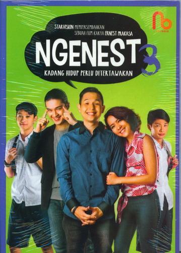Cover Buku NGENEST 3 : Ngetawain Hidup Ala Ernest (cover Film)