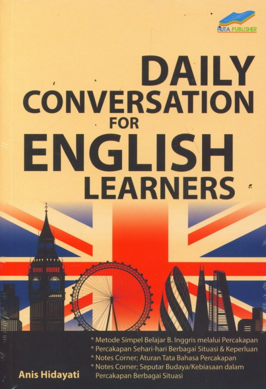 Cover Buku Daily Conversation For English Learners