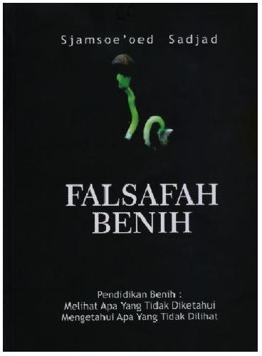 Cover Buku Falsafah Benih