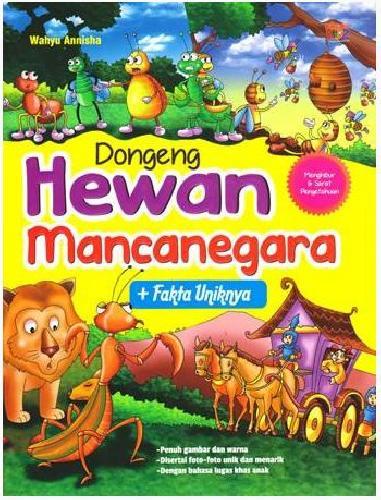Cover Buku Dongeng Hewan Mancanegara + Fakta Uniknya