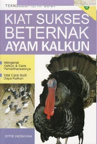Cover Buku Kiat Sukses Beternak AYam Kalkun