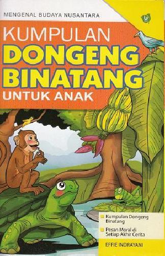 Cover Buku Kumpulan Dongen Binatang Untuk Anak