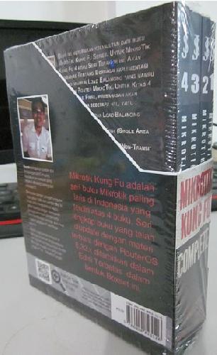 Cover Belakang Buku Boxset Mikrotik Kung Fu Complete 2016
