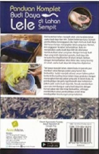 Cover Belakang Buku Panduan Komlet Budidaya Lele Di Lahan Sempit (Promo Best Book)