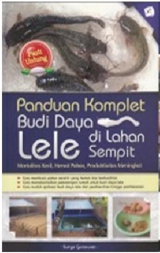 Cover Buku Panduan Komlet Budidaya Lele Di Lahan Sempit (Promo Best Book)