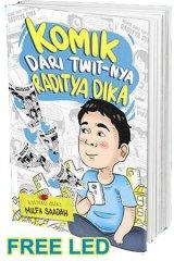 Komik Dari Twit-nya Raditya Dika ( Edisi Tanda Tangan + Bonus USB LED Light )