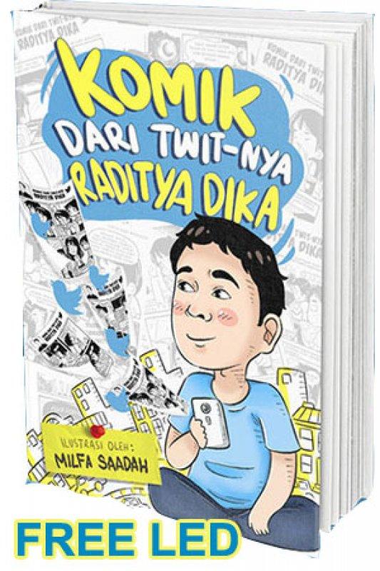 Cover Buku Komik Dari Twit-nya Raditya Dika (Disc 50%)