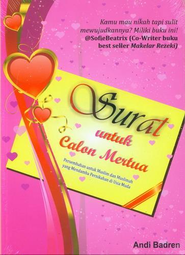 Cover Buku Surat Untuk Calon Mertua