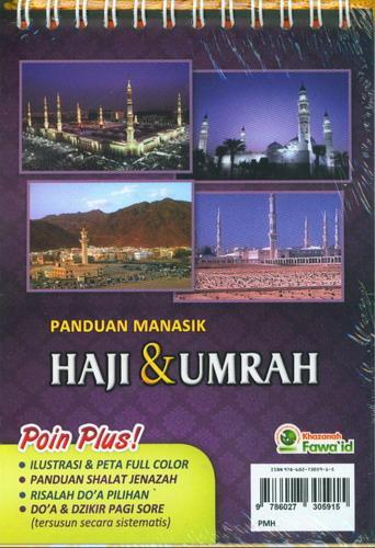 Cover Belakang Buku Panduan Manasik Haji dan Umrah Shahih. Praktis dan Lengkap