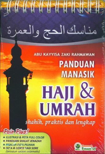 Cover Buku Panduan Manasik Haji dan Umrah Shahih. Praktis dan Lengkap