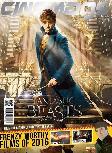 Majalah Cinemags Cover Fantastic Beast and Where to Find Them | Edisi 199 - Februari 2016