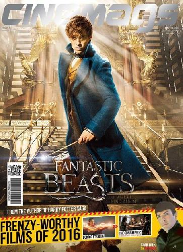 Cover Buku Majalah Cinemags Cover Fantastic Beast and Where to Find Them | Edisi 199 - Februari 2016
