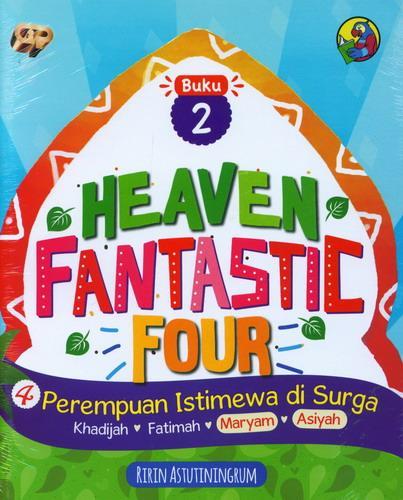 Cover Buku Heaven Fantastic Four Buku 2 : 4 Perempuan Istimewa di Surga