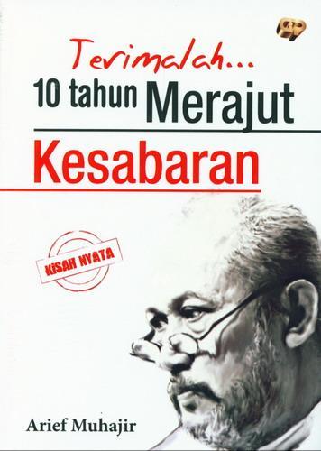 Cover Buku Terimalah 10 tahun Merajut Kesabaran