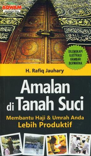 Cover Buku Amalan di Tanah Suci