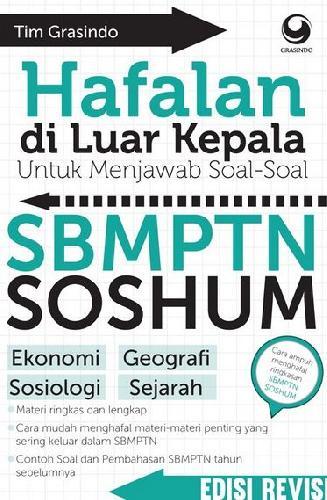 Cover Buku Hafalan Diluar Kepala untuk Menjawab Soal-soal SBMPTN SOSHUM (Edisi Revisi)