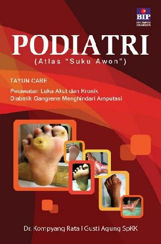 Cover Buku Podiatri