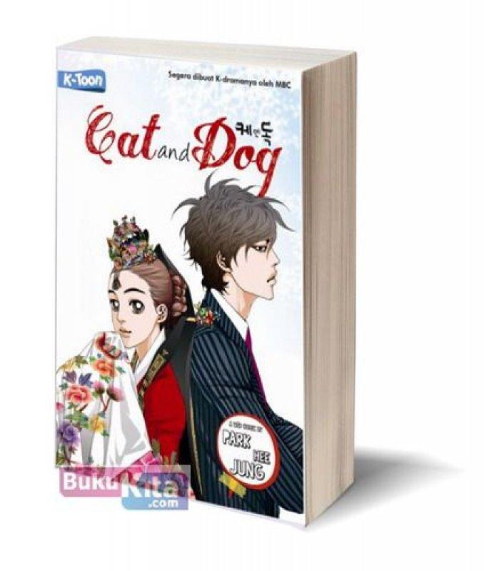 Cover Buku Cat and Dog