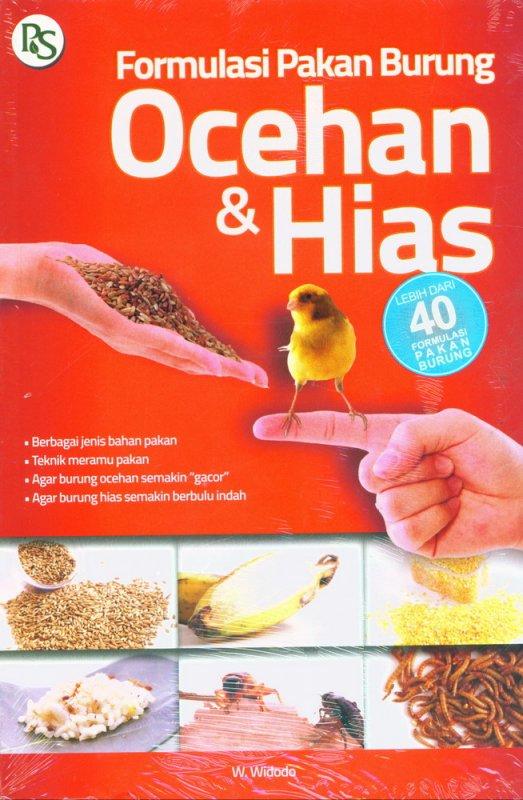 Cover Buku Formulasi Pakan Burung Ocehan dan Hias