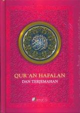 Quran Hafalan dan Terjemahan Kecil Motif Daun (Hard Cover)