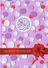 Quran Hafalan Besar Motif Bintik Bulat (Hard Cover)