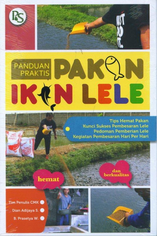 Cover Buku Panduan Praktis Pakan Ikan Lele