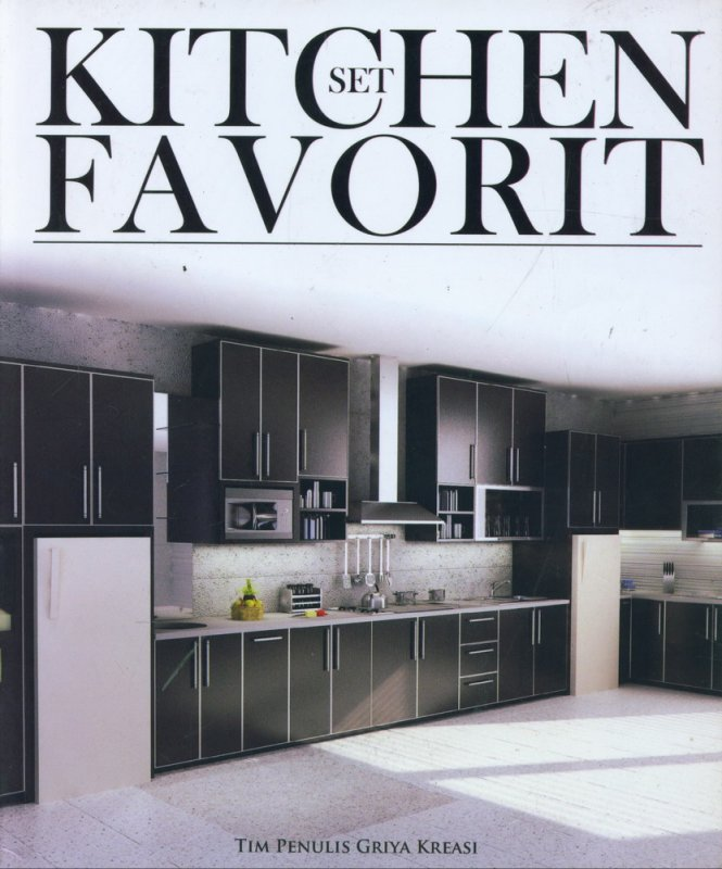 Cover Buku Kitchen Set Favorit