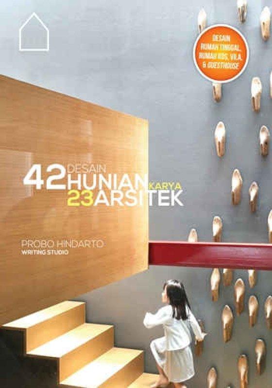 Cover Buku 42 Desain Hunian Karya 23 Desain Arsitektur