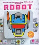 Mewarnai, Menggunting, & Membuat TOPENG ROBOT