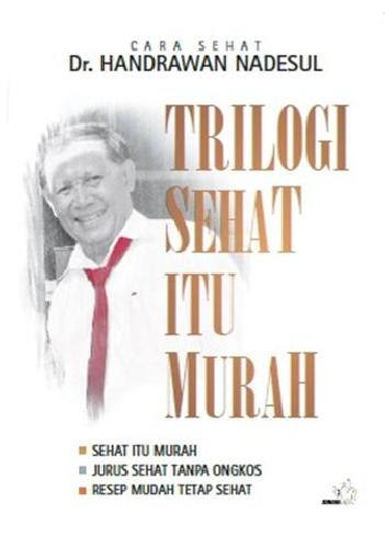 Cover Buku Trilogi Sehat Itu Murah