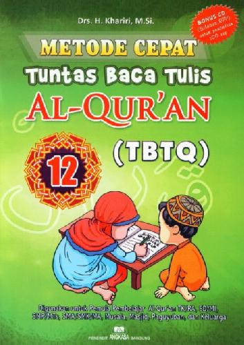 Cover Buku Metode Cepat Tuntas Baca Tulis Al-Quran (TBTQ) #12