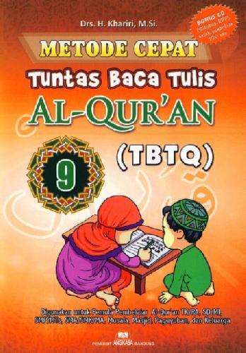 Cover Buku Metode Cepat Tuntas Baca Tulis Al-Quran (TBTQ) #9