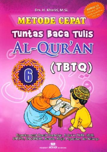 Cover Buku Metode Cepat Tuntas Baca Tulis Al-Quran (TBTQ) #6