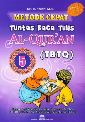 Cover Buku Metode Cepat Tuntas Baca Tulis Al-Quran (TBTQ) #5