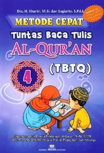 Cover Buku Metode Cepat Tuntas Baca Tulis Al-Quran (TBTQ) #4