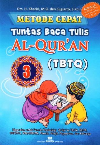Cover Buku Metode Cepat Tuntas Baca Tulis Al-Quran (TBTQ) #3