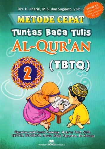 Cover Buku Metode Cepat Tuntas Baca Tulis Al-Quran (TBTQ) #2