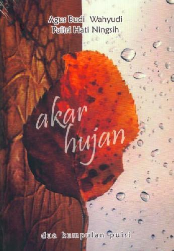 Cover Buku Akar Hujan - Dua Kumpulan Puisi