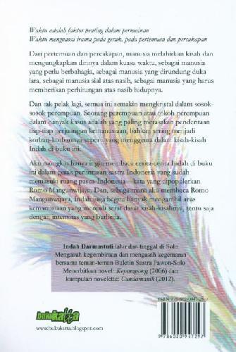 Cover Belakang Buku Makan Malam Bersama Dewi Gandari Sehimpun Cerita