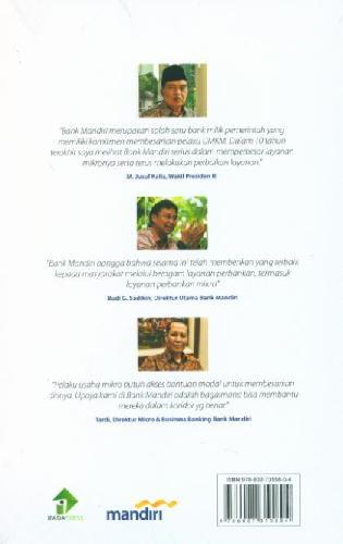 Cover Belakang Buku Mikro Mandiri Membangun Negeri